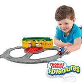 湯瑪士小火車 大冒險系列 提茅斯機房 美泰兒正貨 麗翔親子館