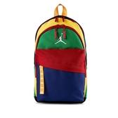 NIKE 後背包 紅藍綠黃 彩虹 拼接 白LOGO 小後背包 (布魯克林) HA6232900-026