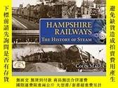 二手書博民逛書店Hampshire罕見Railways: The History of Steam-漢普郡鐵路:蒸汽的歷史Y4