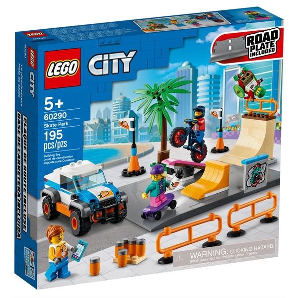 LEGO樂高 City 城市系列 滑板公園_LG60290