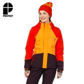PROTEST 女 機能防水保暖外套 (香柚色) FAIRBANKS SNOWJACKET