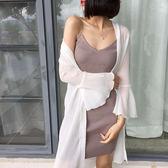 【雙11】防曬衣女中長款夏季新款正韓百搭雪紡寬鬆外套薄大碼披肩免300