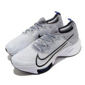 Nike 慢跑鞋 Air Zoom Tempo Next FK 灰 黑 男鞋 React 泡棉中底 多功能 運動鞋【ACS】 CI9923-002