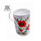 英國Roy Kirkham-草原系列320ml骨瓷直筒馬克杯(共三款可選)