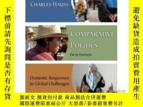 二手書博民逛書店Comparative罕見Politics : Domestic Responses To Global Chal