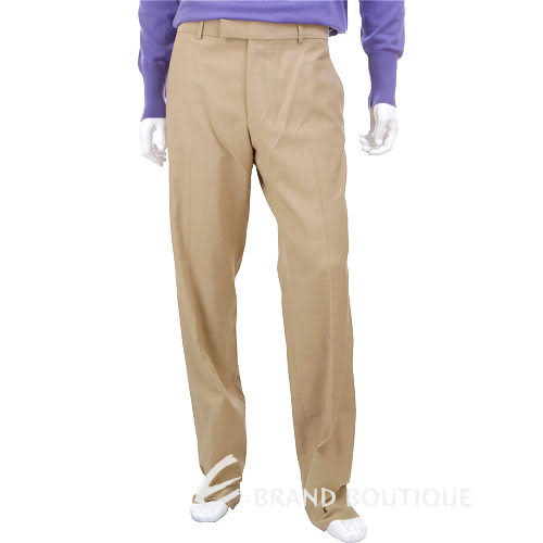 BOSS 立體條紋休閒長褲(駝色) 0580018-02