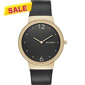 SKAGEN Freja 閃耀都會腕錶/手錶-黑/34mm SKW2370