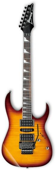 凱傑樂器 IBANEZ RG470 FM 大搖座 電吉他 夕陽漸層色 24期零利率出清 公司貨