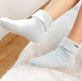 冬季襪子女韓版中筒地板襪加厚加絨保暖家居月子毛襪睡眠襪 DR4056【男人與流行】