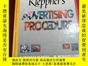 二手書博民逛書店Kleppner's罕見ADVERTISING PROCEDURE 9780135175668Y177301