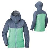 [好也戶外]mont-bell THUNDER PASS女款連帽風雨衣 灰藍/淺綠 No.1128636-SG/OW