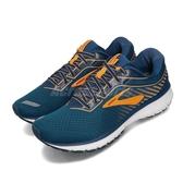Brooks 慢跑鞋 Ghost 12 藍 橘 男鞋 運動鞋 魔鬼系列 十二代 【ACS】 1103161D426