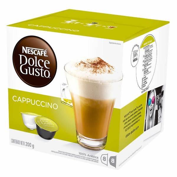 雀巢 卡布奇諾膠囊(Cappuccino) 16顆/盒 (促銷活動滿6盒折價90元)
