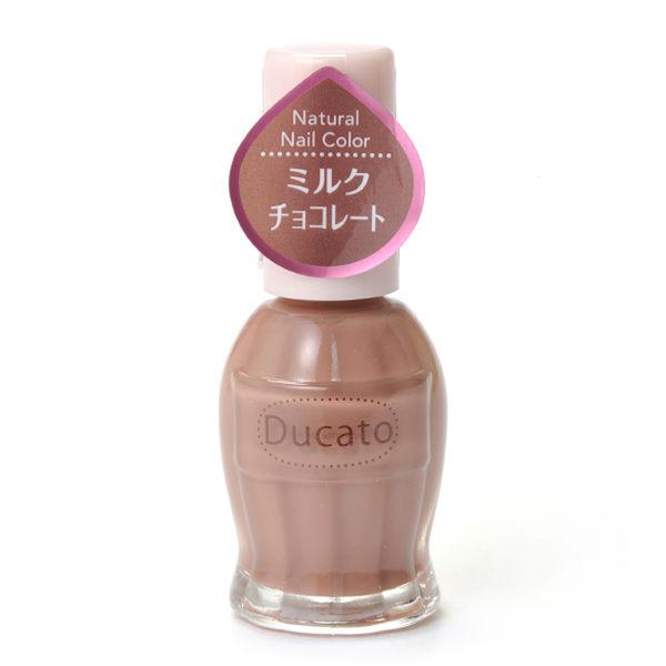 Ducato 自然潤澤指甲油-23牛奶巧克力 11ml《日本製》