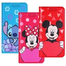 【迪士尼】愛心系列 隱磁側掀皮套 iPhone6/6s Plus (5.5吋)