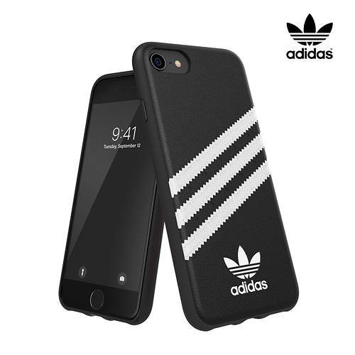 adidas iPhone SE 8 7 Samba 保護殼 黑白 白黑 經典 三葉草 愛迪達 手機殼