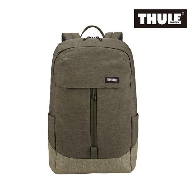 THULE-Lithos 20L筆電後背包TLBP-116-軍綠