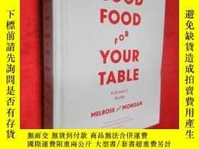 二手書博民逛書店Good罕見Food For Your Table: A Gro
