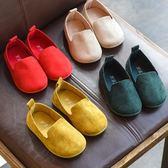 公主鞋 新款兒童鞋單鞋男童小皮鞋豆豆鞋軟底 GB1122『優童屋』