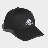 Adidas 男女款黑色LOGO棒球帽 FK0891