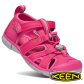 【Keen】SEACAMP II CNX童護趾水陸兩用鞋『桃紅』1020699 童鞋 健行.涼鞋.自行車.溯溪.健走.戶外