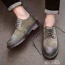 特大碼潮鞋45復古英倫男鞋子低筒加大號46馬丁鞋47男士休閒小皮鞋 依凡卡時尚