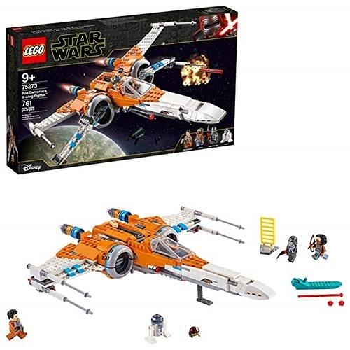 LEGO 樂高 Star Wars Poe Dameron s X-Wing Fighter 75273 (761件)