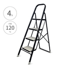 【鐵製四階家用梯-黑管黑板】4階梯 鐵梯...