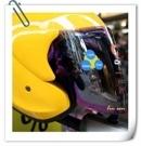 ONZA安全帽,MAX R2,專用電鍍鏡片