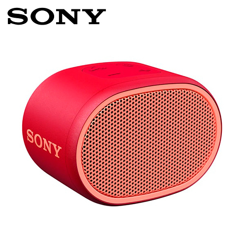 【SONY】SRS-XB01-R 無線藍牙喇叭(紅)