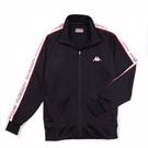 KAPPA義大利時尚型男運動針織外套~黑...