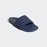 Adidas ADILETTE COMFORT 男款全深藍拖鞋-NO.FW5336