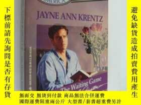 二手書博民逛書店The罕見Waiting Game【等待的遊戲,珍安克蘭茲,英文