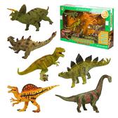 6入精緻盒裝高仿真恐龍動物模型組(大隻)(硬材質)(18006)【888便利購】