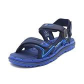 【南紡購物中心】G.P (男女共用款) 中性休閒舒適涼拖鞋 -寶藍(另有紅黑、綠)