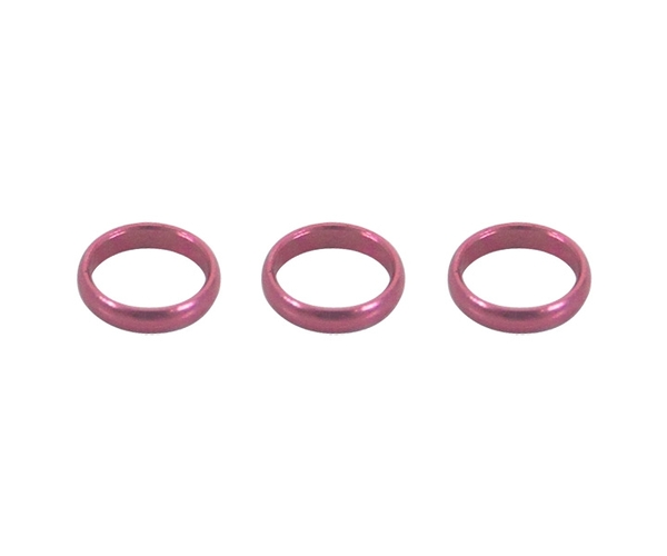 【Harrows】SUPERGRIP SHAFT專用 SPARE RINGS Pink 飛鏢配件 DARTS