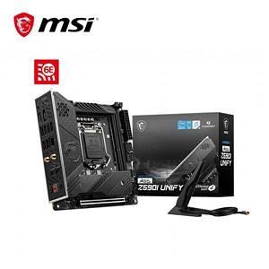 【綠蔭-免運】微星MSI MEG Z590 UNIFY Intel 主機板