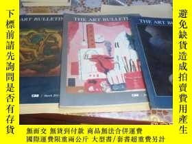 二手書博民逛書店the罕見art bulletin(藝術公報) 英文原版雜誌 2