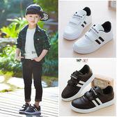 新品正韓童鞋男童小白鞋兒童運動鞋女童板鞋中大童休閒鞋