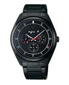 agnes b. Solar 太陽能日曆腕錶(BT5011P1)V14J-0CG0K/40mm