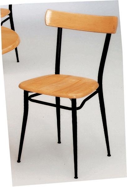 【 IS空間美學】美巧餐椅-原木款