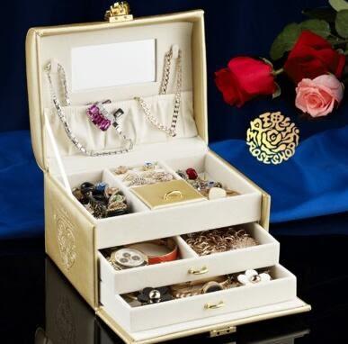 首飾盒 木質公主歐式小飾品收納盒帶鎖復古結婚禮物生日禮品高檔