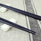 【銅板價5雙入】LOVEL 高分子玻璃纖維抗菌筷(格狀黑)