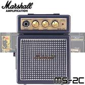 【非凡樂器】Marshall MS-2C 迷你小音箱 / 贈導線 公司貨保固