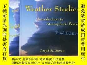 二手書博民逛書店英文原版書weather罕見studies ——introduc