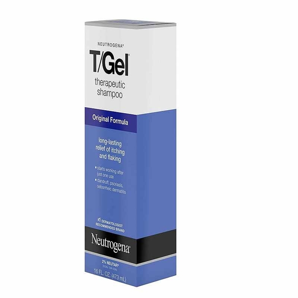 [美國代購美國直購] 16 Oz (5入)Neutrogena T/Gel 16 Fl. Oz 473ML 洗髮精 Therapeutic Shampoo Original Formula