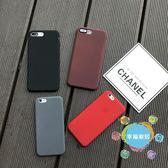 (中秋大放價)簡約純色蘋果6s手機殼矽膠軟殼iPhone6plus防摔殼男女情侶7蘋果8x