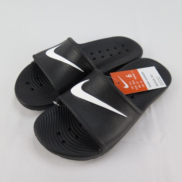 Nike KAWA SHOWER 防水拖鞋 832528001 男款 黑白【iSport愛運動】