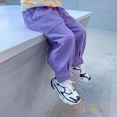 女童長褲洋氣兒童休閒褲寶寶工裝褲韓版【聚可愛】