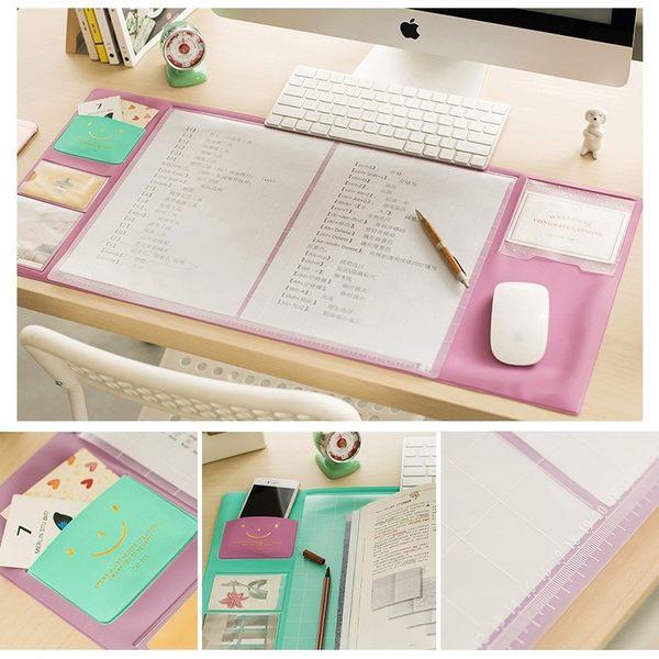 韓國人氣款!多功能 辦公桌墊 滑鼠墊 收納墊 防水墊 辦公桌 書桌 電腦桌 文具用【RS526】